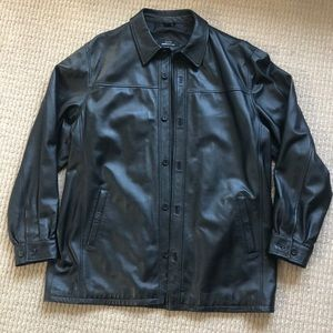 City Jones New York Leather jacket blazer